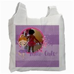 Ballerina - tutu cute - Recycle Bag (one side)