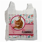 Flamingo - Recycle Bag (one side)