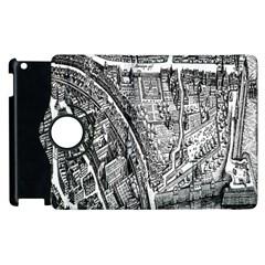 Frankfurt Judengasse Apple Ipad 2 Flip 360 Case by Celenk