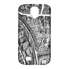 Frankfurt Judengasse Samsung Galaxy S4 Classic Hardshell Case (pc+silicone) by Celenk