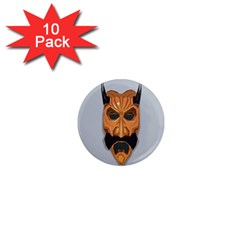 Mask India South Culture 1  Mini Magnet (10 Pack)  by Celenk