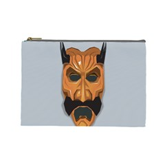 Mask India South Culture Cosmetic Bag (large)