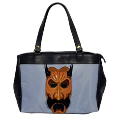 Mask India South Culture Office Handbags by Celenk