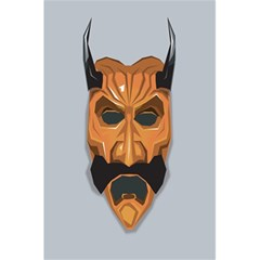 Mask India South Culture 5 5  X 8 5  Notebooks by Celenk