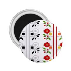 Bulgarian Folk Art Folk Art 2 25  Magnets by Celenk