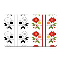 Bulgarian Folk Art Folk Art Magnet (rectangular) by Celenk