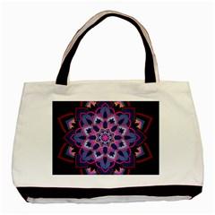 Mandala Circular Pattern Basic Tote Bag by Celenk
