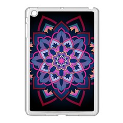 Mandala Circular Pattern Apple Ipad Mini Case (white) by Celenk