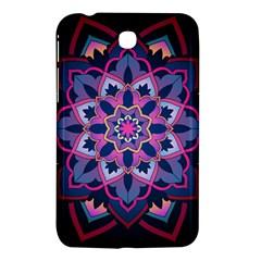 Mandala Circular Pattern Samsung Galaxy Tab 3 (7 ) P3200 Hardshell Case  by Celenk