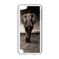 Elephant Black And White Animal Apple Ipod Touch 5 Case (white) by Celenk