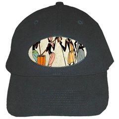 Man Ethic African People Collage Black Cap