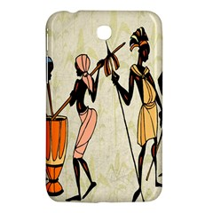 Man Ethic African People Collage Samsung Galaxy Tab 3 (7 ) P3200 Hardshell Case  by Celenk