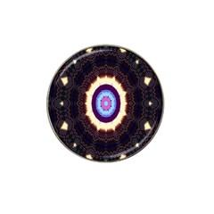 Mandala Art Design Pattern Hat Clip Ball Marker by Celenk