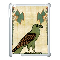 Egyptian Paper Papyrus Bird Apple Ipad 3/4 Case (white) by Celenk