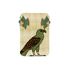 Egyptian Paper Papyrus Bird Apple Ipad Mini Protective Soft Cases by Celenk