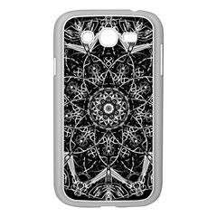 Mandala Psychedelic Neon Samsung Galaxy Grand Duos I9082 Case (white) by Celenk