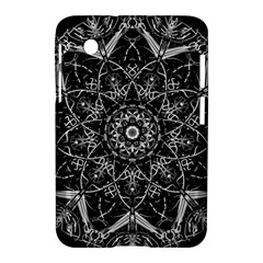 Mandala Psychedelic Neon Samsung Galaxy Tab 2 (7 ) P3100 Hardshell Case  by Celenk