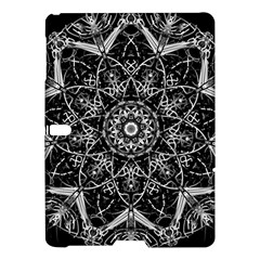 Mandala Psychedelic Neon Samsung Galaxy Tab S (10 5 ) Hardshell Case  by Celenk