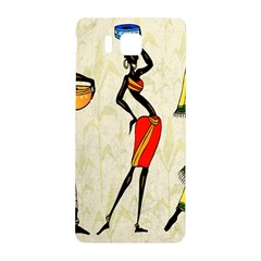 Woman Ethic African People Collage Samsung Galaxy Alpha Hardshell Back Case by Celenk