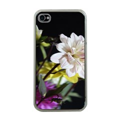 Dahlias Dahlia Dahlia Garden Apple Iphone 4 Case (clear) by Celenk