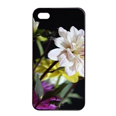 Dahlias Dahlia Dahlia Garden Apple Iphone 4/4s Seamless Case (black) by Celenk