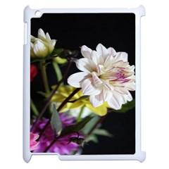 Dahlias Dahlia Dahlia Garden Apple Ipad 2 Case (white) by Celenk