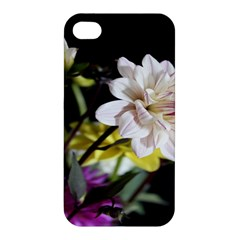 Dahlias Dahlia Dahlia Garden Apple Iphone 4/4s Hardshell Case by Celenk