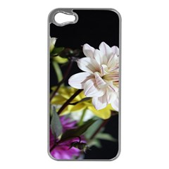 Dahlias Dahlia Dahlia Garden Apple Iphone 5 Case (silver) by Celenk