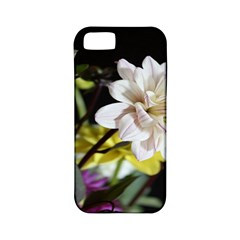 Dahlias Dahlia Dahlia Garden Apple Iphone 5 Classic Hardshell Case (pc+silicone) by Celenk