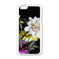 Dahlias Dahlia Dahlia Garden Apple Iphone 6/6s White Enamel Case by Celenk