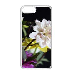 Dahlias Dahlia Dahlia Garden Apple Iphone 7 Plus Seamless Case (white) by Celenk