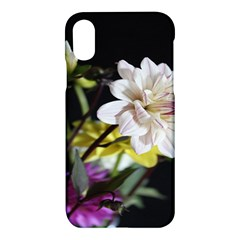 Dahlias Dahlia Dahlia Garden Apple Iphone X Hardshell Case by Celenk