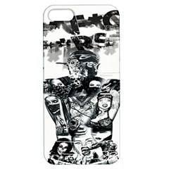 Black Music Urban Swag Hip Hop Apple Iphone 5 Hardshell Case With Stand by Celenk
