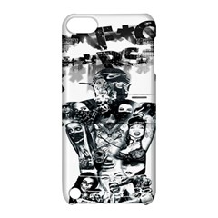 Black Music Urban Swag Hip Hop Apple Ipod Touch 5 Hardshell Case With Stand by Celenk