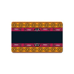 Pattern Ornaments Africa Safari Magnet (name Card) by Celenk