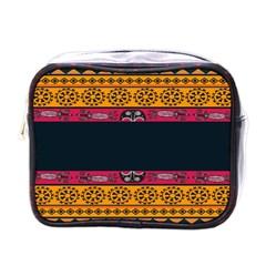 Pattern Ornaments Africa Safari Mini Toiletries Bags by Celenk