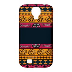 Pattern Ornaments Africa Safari Samsung Galaxy S4 Classic Hardshell Case (pc+silicone) by Celenk