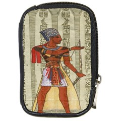 Egyptian Design Man Royal Compact Camera Cases by Celenk