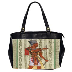 Egyptian Design Man Royal Office Handbags (2 Sides)  by Celenk
