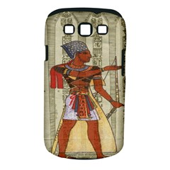 Egyptian Design Man Royal Samsung Galaxy S Iii Classic Hardshell Case (pc+silicone) by Celenk