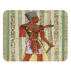 Egyptian Design Man Royal Double Sided Flano Blanket (large)  by Celenk