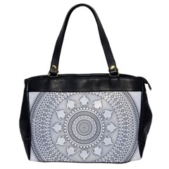 Mandala Ethnic Pattern Office Handbags by Celenk