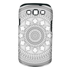 Mandala Ethnic Pattern Samsung Galaxy S Iii Classic Hardshell Case (pc+silicone) by Celenk