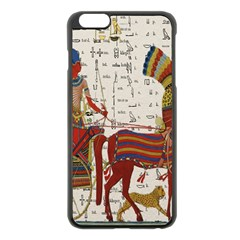 Egyptian Tutunkhamun Pharaoh Design Apple Iphone 6 Plus/6s Plus Black Enamel Case by Celenk