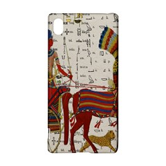 Egyptian Tutunkhamun Pharaoh Design Sony Xperia Z3+ by Celenk