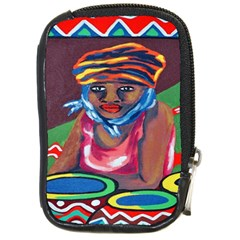 Ethnic Africa Art Work Drawing Compact Camera Cases by Celenk