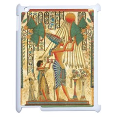 Egyptian Man Sun God Ra Amun Apple Ipad 2 Case (white) by Celenk