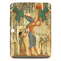 Egyptian Man Sun God Ra Amun Samsung Galaxy Tab 3 (10 1 ) P5200 Hardshell Case