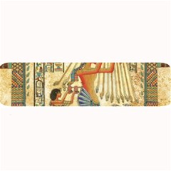 Egyptian Man Sun God Ra Amun Large Bar Mats by Celenk