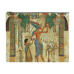 Egyptian Man Sun God Ra Amun Cosmetic Bag (xl)